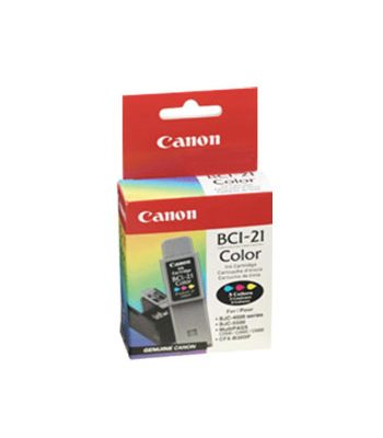 BCI-21C CARTOUCHE ORIGINAL COLOUR