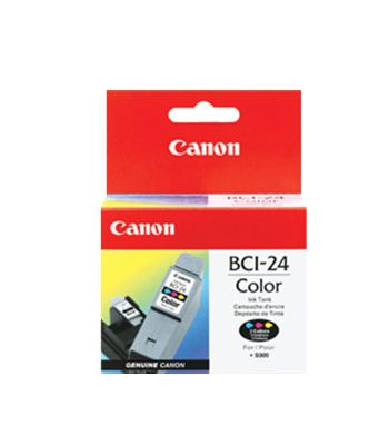 BCI-24C CARTOUCHE ORIGINAL 3 COLOUR