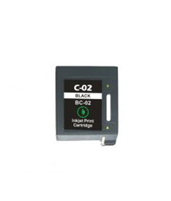 IC-02 *R* / BC-02 CARTOUCHE COMPATIBLE NOIR REMANUFACTURED